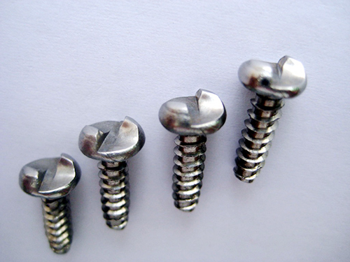 One-way anti-theft screws